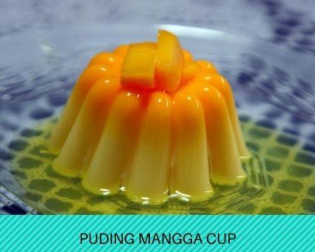 Resep Membuat Puding Mangga Cup Gurih